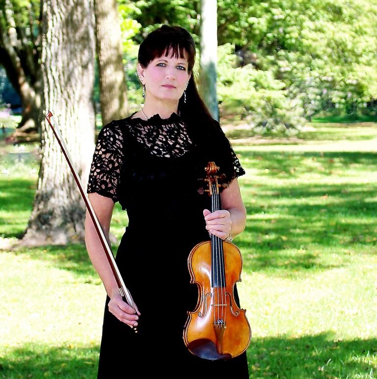NJ Wedding Ceremony Violinist, Julia Tibbett, And Bridal